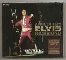 "ELVIS PRESLEY 2 CD ""APRIL 10 1972 RICHMOND"" 2018 VICTROLA + ON TOUR REHEARSALS"
