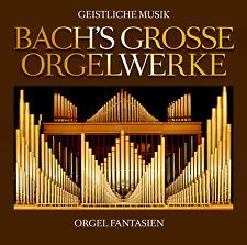 Orgelwerke CD Geistliche Musik Bachs Grosse Orgelwerke von Various Artists 2CDs