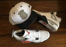Retro Jordan 4s (white/cement) size 7.5 men's