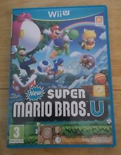 New Super Mario Bros. U Nintendo Wii U  ** See pictures for condition ** Pegi 3