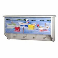 Judith Edwards rowboat boat water lake beach decor shelf, cabinet, hook nautical