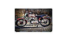 1958 BSA A10 Spitfire Scrambler Bike Motorcycle A4 Photo Poster