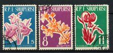 Albania 1961 SG#679-681 Flowers Cto Used Set #A30936
