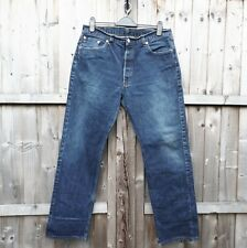 Vintage Levi 501 Jeans 501s Denim Button 501s dunkelblau wash W36 L32-DP1683