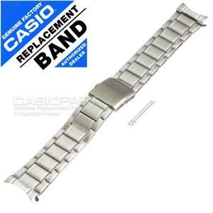 Genuine Casio Watch Band MDV-106 MDV-106D Stainless Steel Metal Strap Bracelet