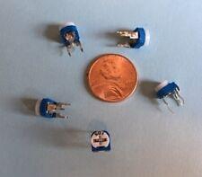 5 pcs  0-500 Ohm Trim Pot Linear Potentiometer Variable Resistor