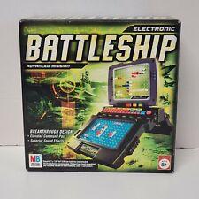 Electronic Battleship Advanced Mission 2005 Hasbro with Box