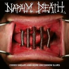 """Napalm Death """"Coded Smears And More Uncommon Slurs"""" Gatefold RED 2LP&LP-Booklet"""