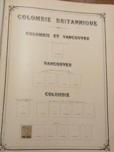 BRITISH COLOMBIA, FIRST VALUES USED/ MLH
