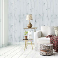 White Self Adhesive Contact Paper Peel and Stick Wood Wallpaper Decor Removable