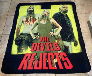 The Devil's Rejects Original 2005 50 x 60 Fleece Throw Blanket NECA Rob Zombie