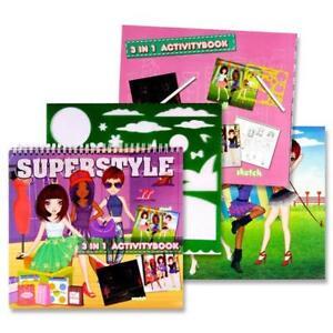 Super Style Fashion Sketch Book.