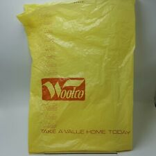 Woolco Department Store Plastic Bag Columbus Ohio Woolworth