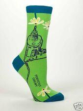Blue Q Perfectly Screwy Women's Casual Sock (5-10)