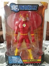 "DC UNIVERSE GIANTS OF JUSTICE THE FLASH 12"" FIGURE Comic con Exclusive New"