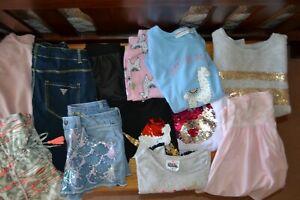 Amazing bundle of designer girls wear.Size 10-Guess,tilii,country road, vigoss
