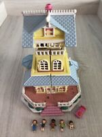 Vintage Polly Pocket 1995 Clubhouse - Pollyville - Bluebird Toys Pop-Up