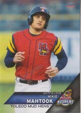 2018 Toledo Mud Hens Mikie Mahtook RC Rookie Detroit Tigers Minor