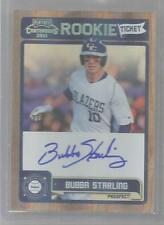 2011 Playoff Contenders Baseball Bubba Starling Rookie Ticket Autograph Card
