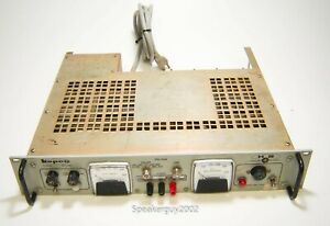 Kepco 0-525 VDC 0-500 mA / Regulated Tube Power Supply / HB-525M C69558 -- BR