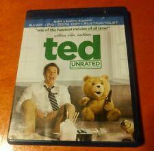 Ted Unrated Blu-ray DVD Mark Wahlberg , Mila Kunis , Seth MacFarlane