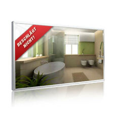 Infrarotheizung  250 Watt, Spiegel, 900 x 350 mm, Spiegelheizung