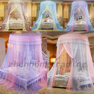 Princess Round Dome Mesh Lace Mosquito Net Bed Canopy Bedding Netting Modern