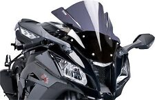 Z Racing Windscreen PUIG Dark Smoke 5605F for Suzuki GSXR600 2011-2014 GSXR750