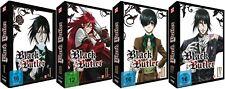 Black Butler - Staffel 1 - Box 1-4 - Episoden 1-24 - DVD - NEU