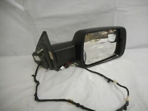 Fits 2019 2020 dodge ram 1500 Right side mirror Passenger side Black