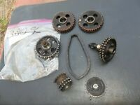 380 SL Mercedes 107 Timing Chain Sprockets intermediate crank oil pump 6 pieces