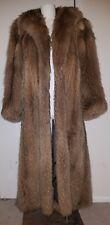 Gorgeous vintage Tanuki Japanese raccoon fur coat