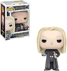 Funko Pop Harry Potter: Lucius w/ Prophecy Figure w/ Protector (Special Edition)