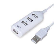 Black USB 2.0 Hi-Speed 4-Port Splitter Hub Adapter For PC Computer