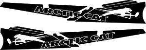 ARCTIC CAT TUNNEL GRAPHICS WRAP  CROSS PRO CLIMB PROCLIMB  DECAL ZR 8000 LXR