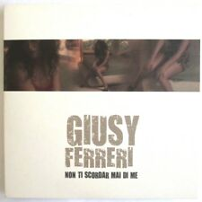 """GIUSY FERRERI - RARISSIMO CD SINGOLO PROMO FRANCIA """"NON TI SCORDAR MAI DI ME"""""""