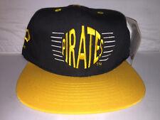 Vtg Pittsburgh Pirates Annco Snapback hat cap rare 90s MLB baseball NWT bonds