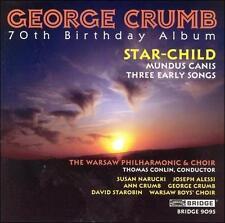CRUMB, GEORGE: Star - Child, etc (CD, 1999, Bridge) GRAMMY! - NEW