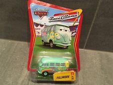 DISNEY PIXAR CARS - FILLMORE VW CAMPER VAN - NEW / RARE RACE O RAMA PACK