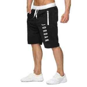 New Jordan Short Pants Mens Fitness Bodybuilding Shorts Man Summer Gyms