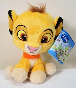 "* Disney Posh Paws Lion King Simba Plush Comforter Soft Toy 9"" with tag (K)"