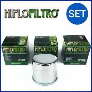 3x HIFLO FILTRE A HUILE HF138C SUZUKI GSX-R 1100