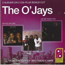 SOUL The O`Jays So full of love & Love fever & Let me touch you CD1977/85/87 3LP