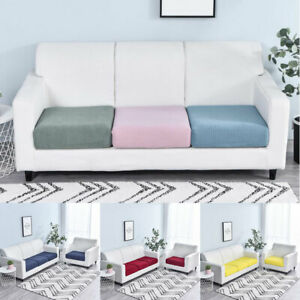 1/2/3/4 Seater Sofa Seat Covers Elastic Couch Slipcover Cushion Settee Protector