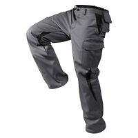 Bundhose/Arbeitshose Image-Dress New Design Form Anthra./Schwarz Größen: 25-118