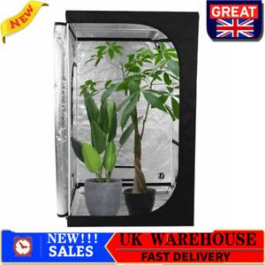 Grow Tent 600D Indoor Bud Box Hydroponics Dark Room 120 x 120 x 200 cm ESE
