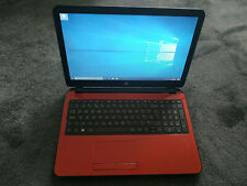 Red HP Pavilion i3-4005U 1.70Ghz 8GB 1TB HDD Windows Laptop 15-r030na
