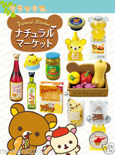NEW!  Rement Re-Ment Miniature San-X Rilakkuma Natural Market Full set of 8