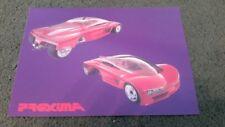 Paper 205 Model 1988 Car Sales Brochures