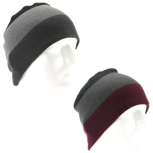 Beanie for Men - Van Heusen - Color Block - Winter Hat - One Size